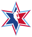 NBA All-Star Game 2019-2020 Secondary Logo iron on sticker